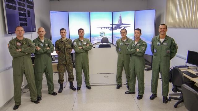 Simulador de Ensaios em Voo do IPEV é utilizado como atividade preparatória para Operação Manga.