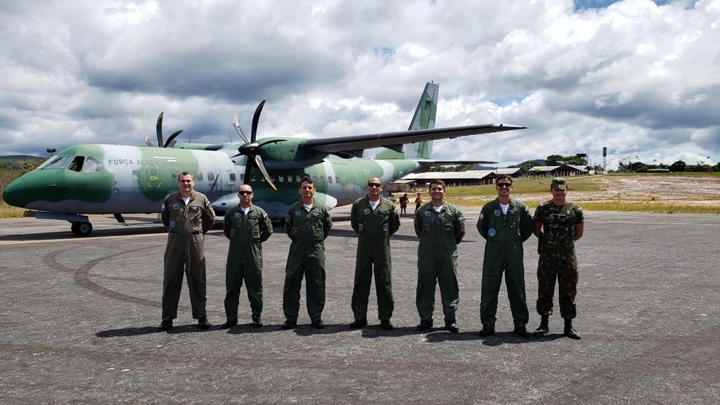 IPEV promove treinamento operacional com 1º/9º GAv em Surucucu